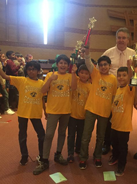Gems Chess Kids in Peel School Board Chess Tournament