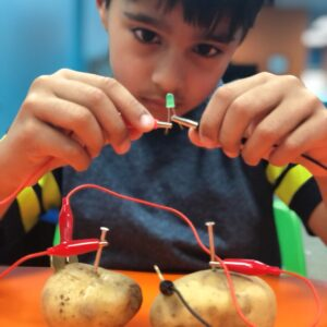 Electrical Engineering And Circuits Summer Camp -Age: 7 to 9 yrs <br>Aug-4 to Aug-7-2020